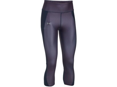 Under Armour FlyBy Printed Capris Ladies