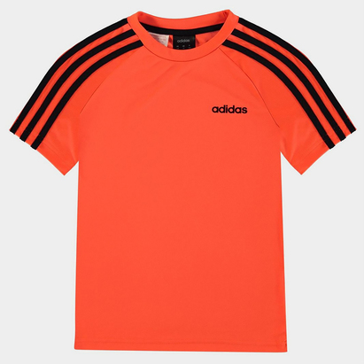 adidas 3 Stripe Sereno T-Shirt Junior Boys