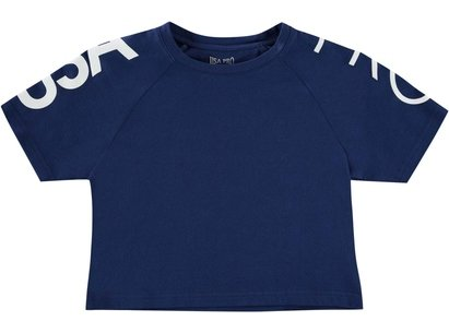 USA Pro Cropped T-Shirt Junior Girls