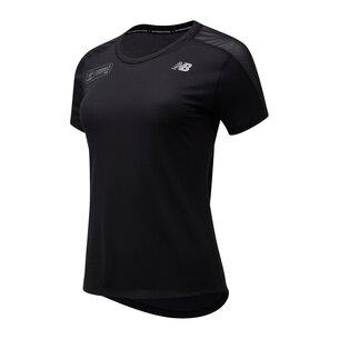 New Balance Virgin London Marathon Impact Run Short Sleeve T-Shirt Ladies