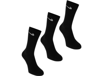 Nike 3 Pack Half Cushion Mens Socks