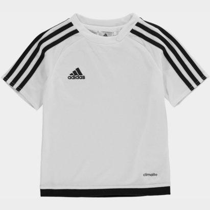 adidas 3 Stripe Estro Tee Shirt Infants