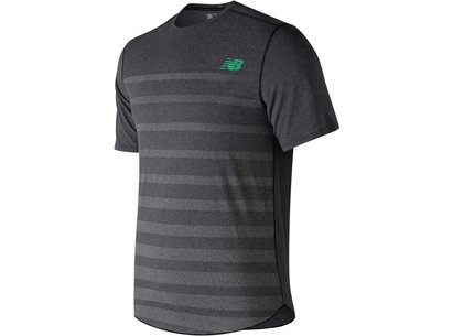 New Balance Speed Short Sleeve T Shirt Mens