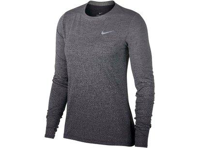 Nike Medalist Long Sleeve Running Top Ladies