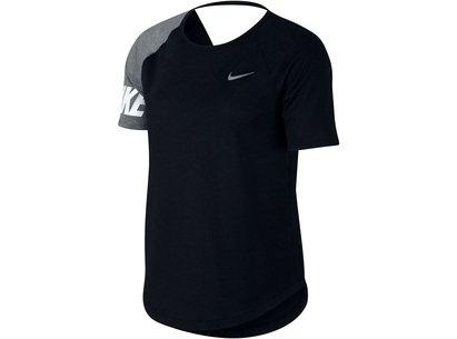 Nike Miler Running Top Ladies