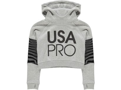 USA Pro Mesh Crop OTH Hoodie Junior Girls