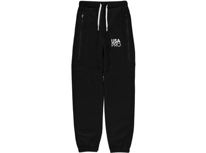 USA Pro Loose Fleece Jogging Bottoms Junior Girls
