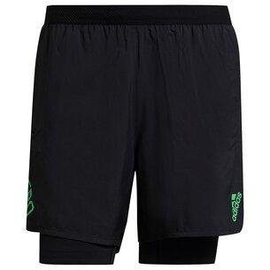 adidas Adizero 2in1 Shorts Mens