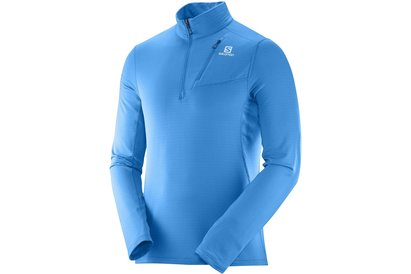 Salomon Grid Half Zip Running Midlayer Mens