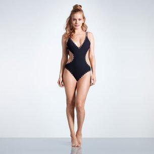 USA Pro CutOut Swim Suit Ladies