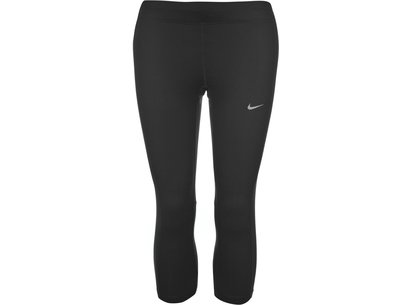 Nike Essential Three Quarter Running Tights Mens