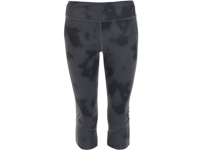 adidas Supernova Three Quarter Printed Capris Ladies