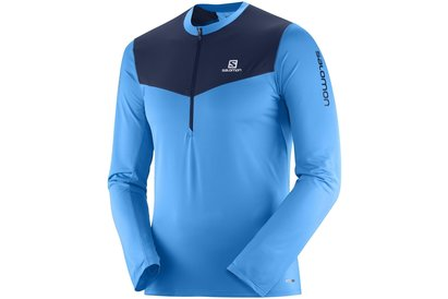 Salomon Fast Wing Half Zip Running Top Mens