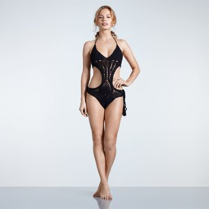 USA Pro Crochet Swim Suit Ladies