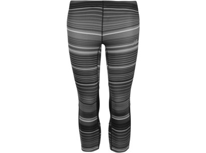 New Balance Impact Print Capri Tights Ladies
