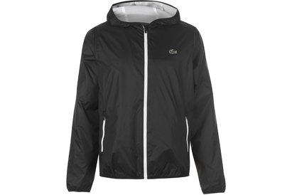 Lacoste Sport Hooded Technical Tennis Jacket
