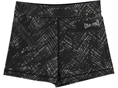 USA Pro 3 Inch Training Shorts Junior Girls