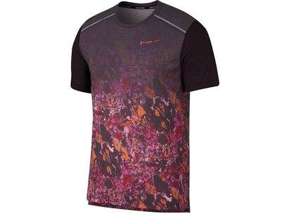 Nike Rise Print T Shirt Mens