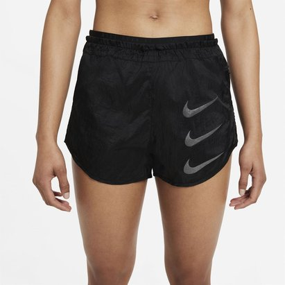 adidas Tempo Luxe Run Division Womens 2 In 1 Running Shorts