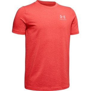 Under Armour Charged Cotton T Shirt Junior Boys