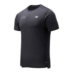 New Balance Virgin London Marathon Impact Run T-Shirt Mens