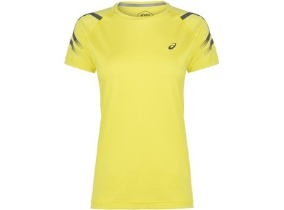 Asics Icon Short Sleeve Running T Shirt Ladies