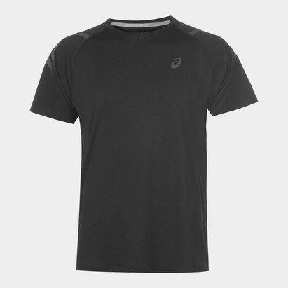 Asics Icon Short Sleeve T-Shirt Mens Black
