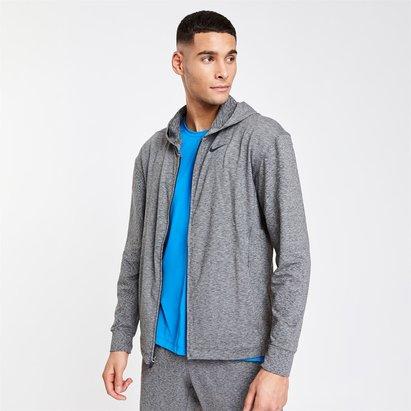 Nike Yoga Dri FIT Mens Full Zip Hoodie