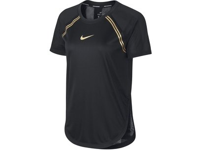 Nike Glam Short Sleeve T Shirt Ladies
