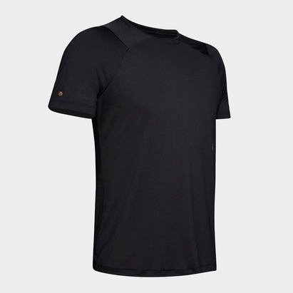 Under Armour Rush Short Sleve T Shirt Mens