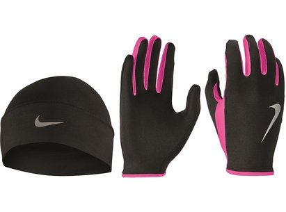 Nike Run Hat and Gloves Set Womens