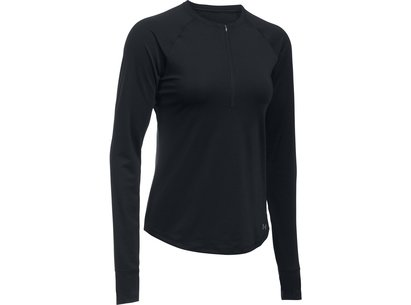 Under Armour Fly By Zip Top Ladies