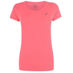 Asics V Neck Short Sleeve T Shirt Ladies