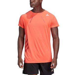 adidas Heat Ready T Shirt Mens