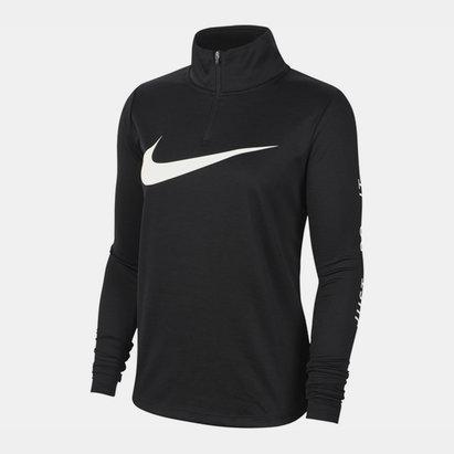 Nike Swoosh Midlayer Zip Top Ladies