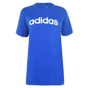 adidas Womens Essentials Linear T Shirt Loose