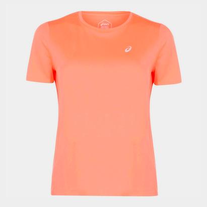 Asics Katakana Running Short Sleeve T Shirt Ladies