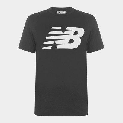 New Balance Logo Graphic QT T-Shirt Mens