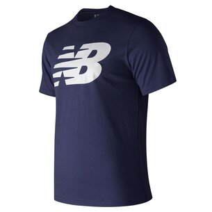New Balance Logo Graphic QT T Shirt Mens