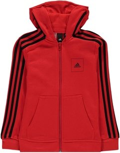 adidas Athletics Club Full Zip Hoodie Junior Boys