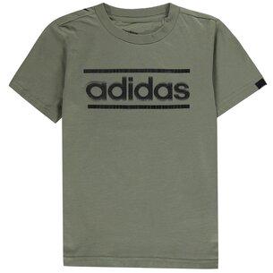 adidas Classic Logo T Shirt Junior Boys