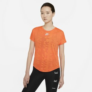 Nike Air Womens Short Sleeve Running Top