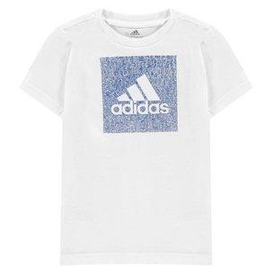 adidas Must Haves Box Badge of Sport T Shirt Junior Boys