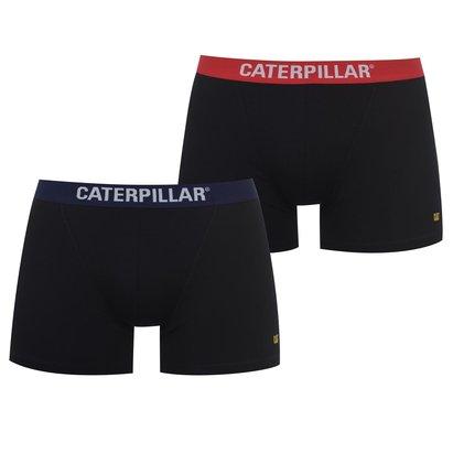 Caterpillar 2 Pack Boxers Mens