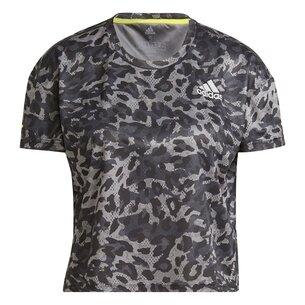 adidas Primeblue Ladies Running T-Shirt
