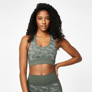 Everlast Camo Cross Back Bra