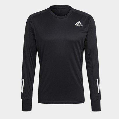 adidas Own The Run Long Sleeve Running Top Mens