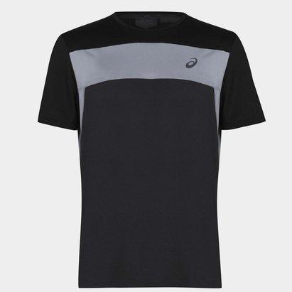Asics Race Short Sleeve Running T Shirt Mens