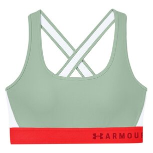 Under Armour Mid Crossback Bra Ladies