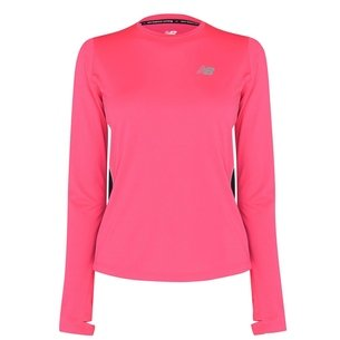 New Balance Accelerate Long Sleeve Running T Shirt Womens